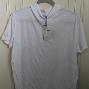 Zara Basics White Shirt